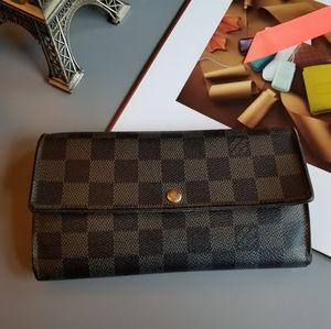 Louis Vuitton Portefeuille Sarah Damier Eb…